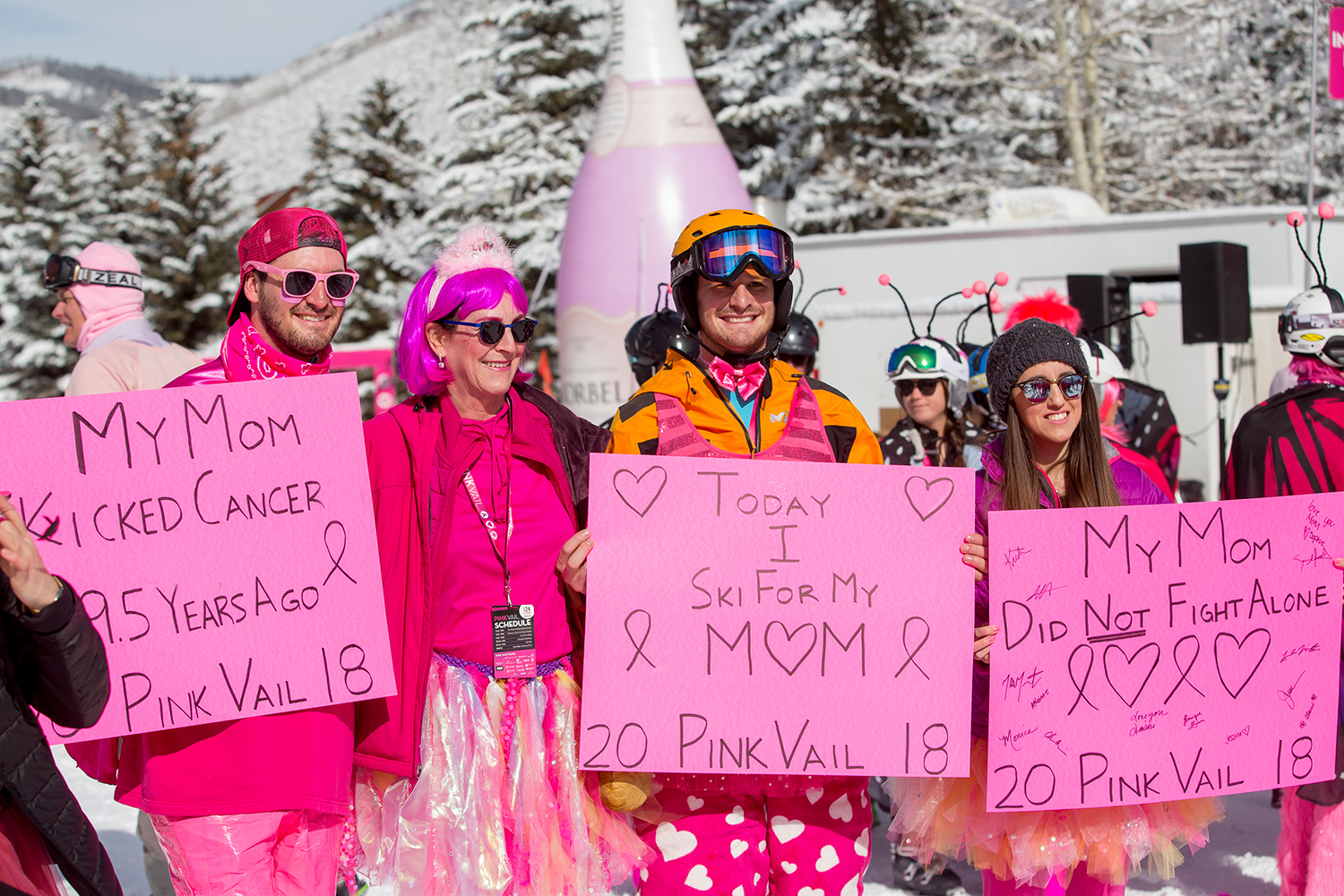 Thanks for supporting Pink Vail
