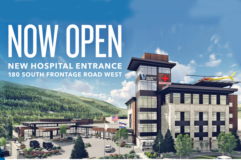 Vail Health's New Hospital Entrance Opening