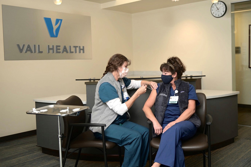 Vail Health vaccine appointments fill quickly for patients 70 and older