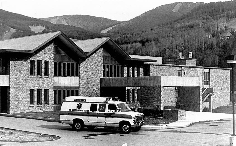Vail's medical center started as a one-room clinic where patients waited outside in the snow