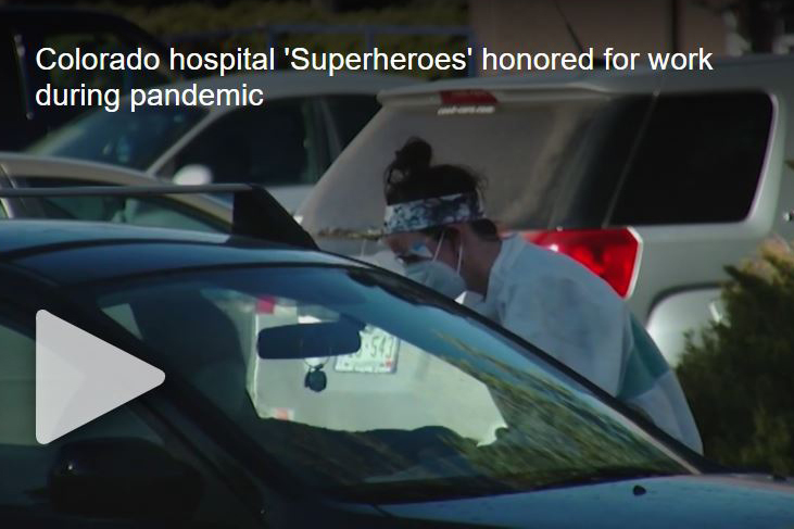 Colorado hospital 'Superheroes' honored for work during pandemic