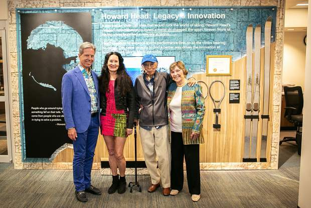 New Vail Health exhibit honors Howard Head