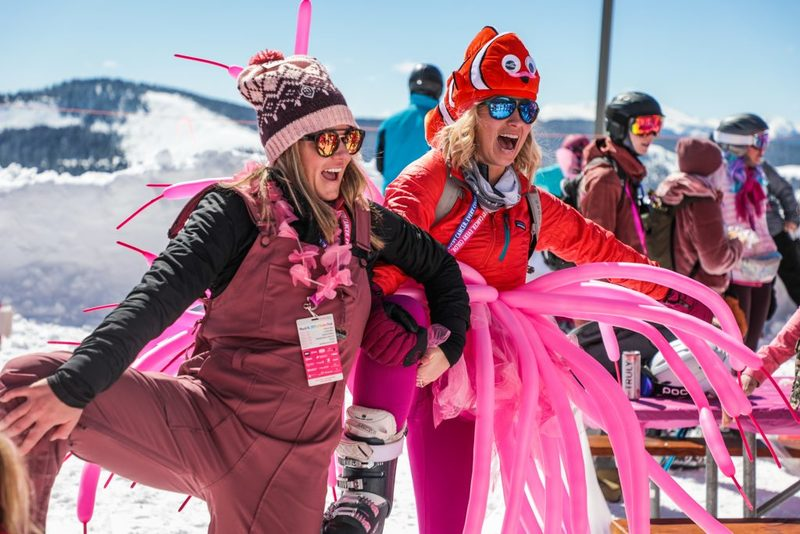 Pink Vail fundraising underway, Team Wonderwomen in the lead
