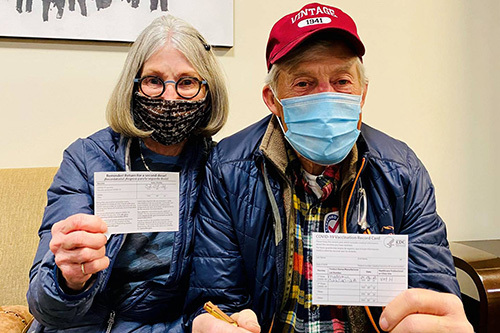 Shots of hope: Images of Eagle County residents getting the COVID-19 vaccine
