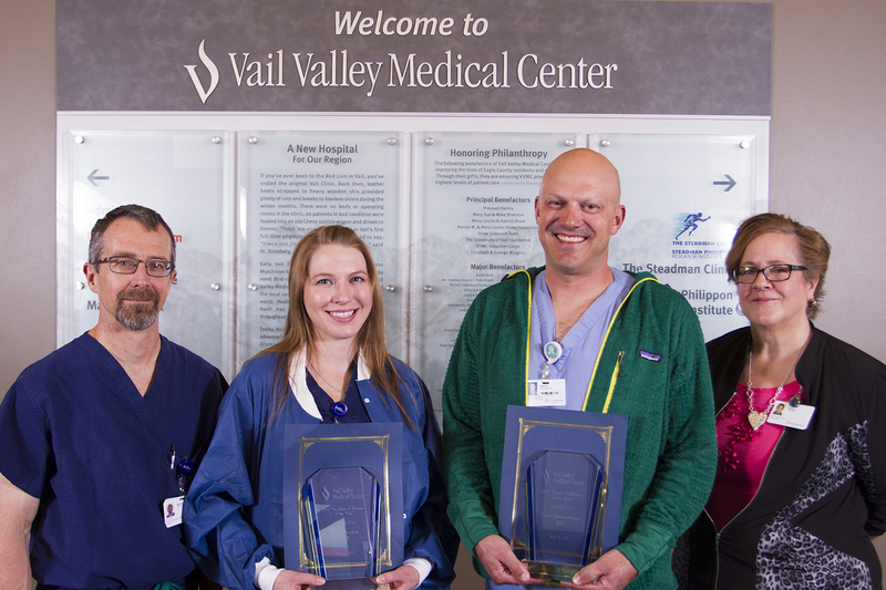 Vail Nurses and Surgical Technicians Awarded for Exemplary Work